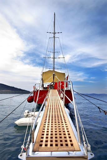 Gangway/Paserelle of the Orient Pearl
