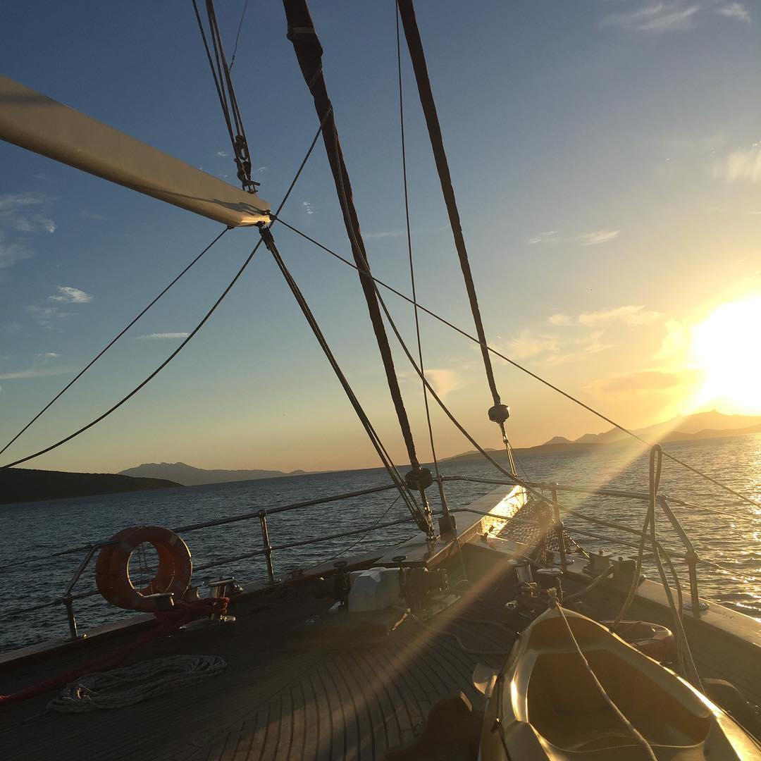 luxurytravel sailing phuketsailing bodrum sunset