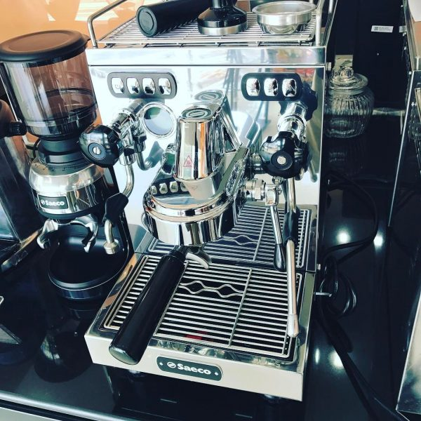 Our new coffee machine to enhance the sailing experience