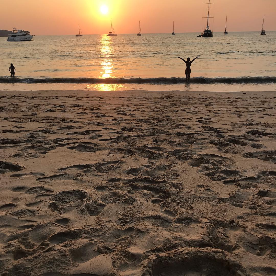 Sunset at Nai Yang Beach